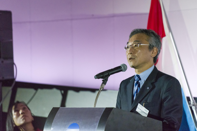 Présentation par le Professeur Hitoshi Kuninaka, directeur du Space Exploration Innovation Hub Center, du « JAXA's Lunar and Planetary Exploration Program »