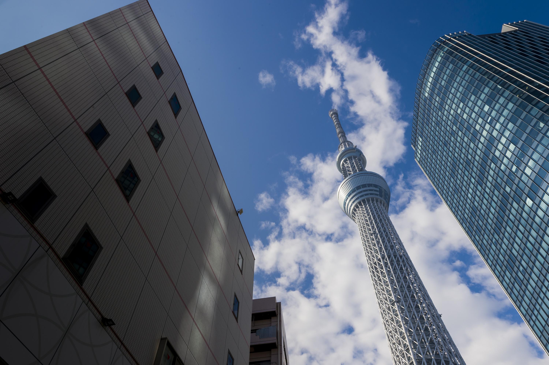 Le Skytree de Tokyo