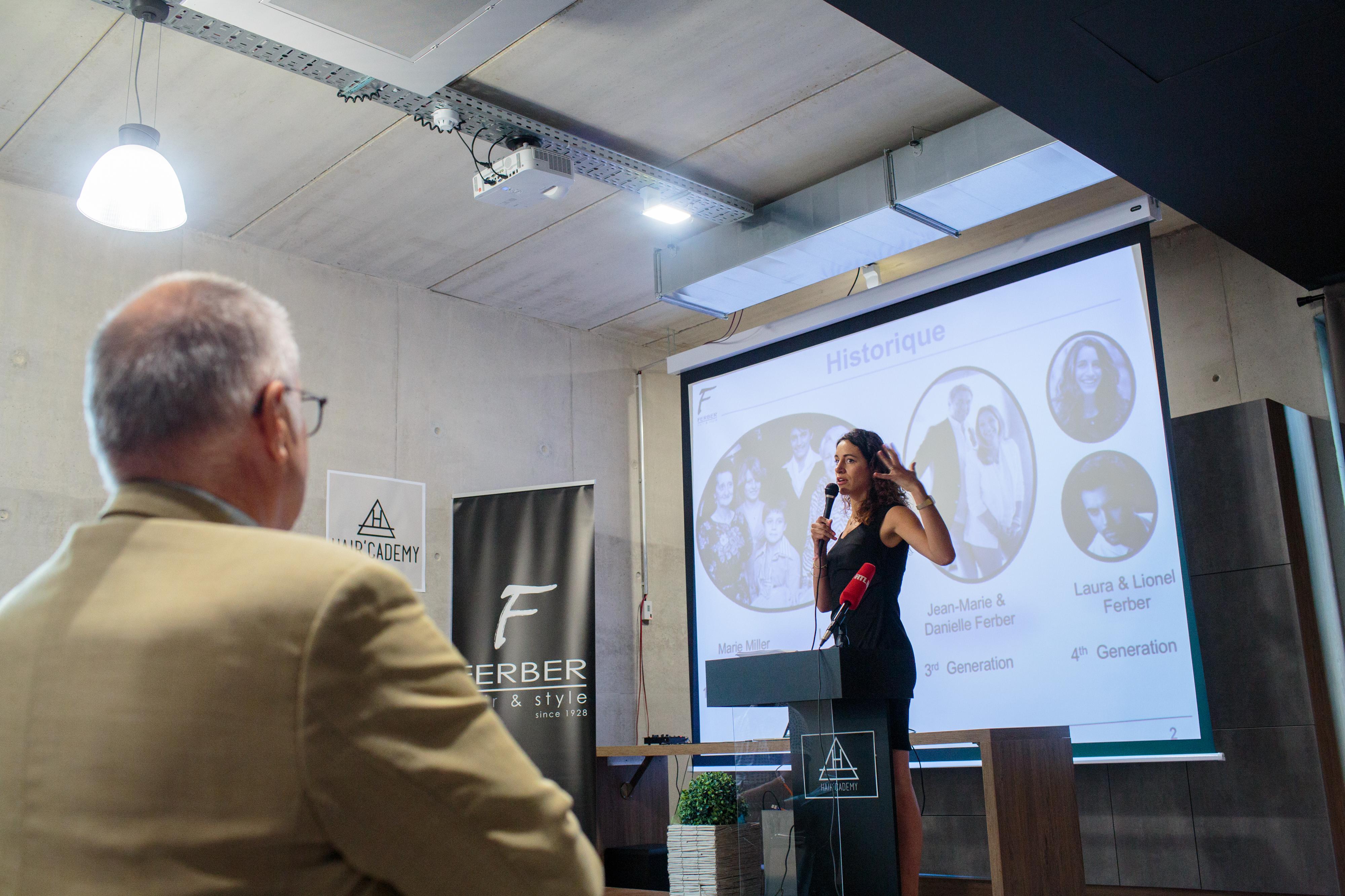 Laura Ferber, Groupe Ferber