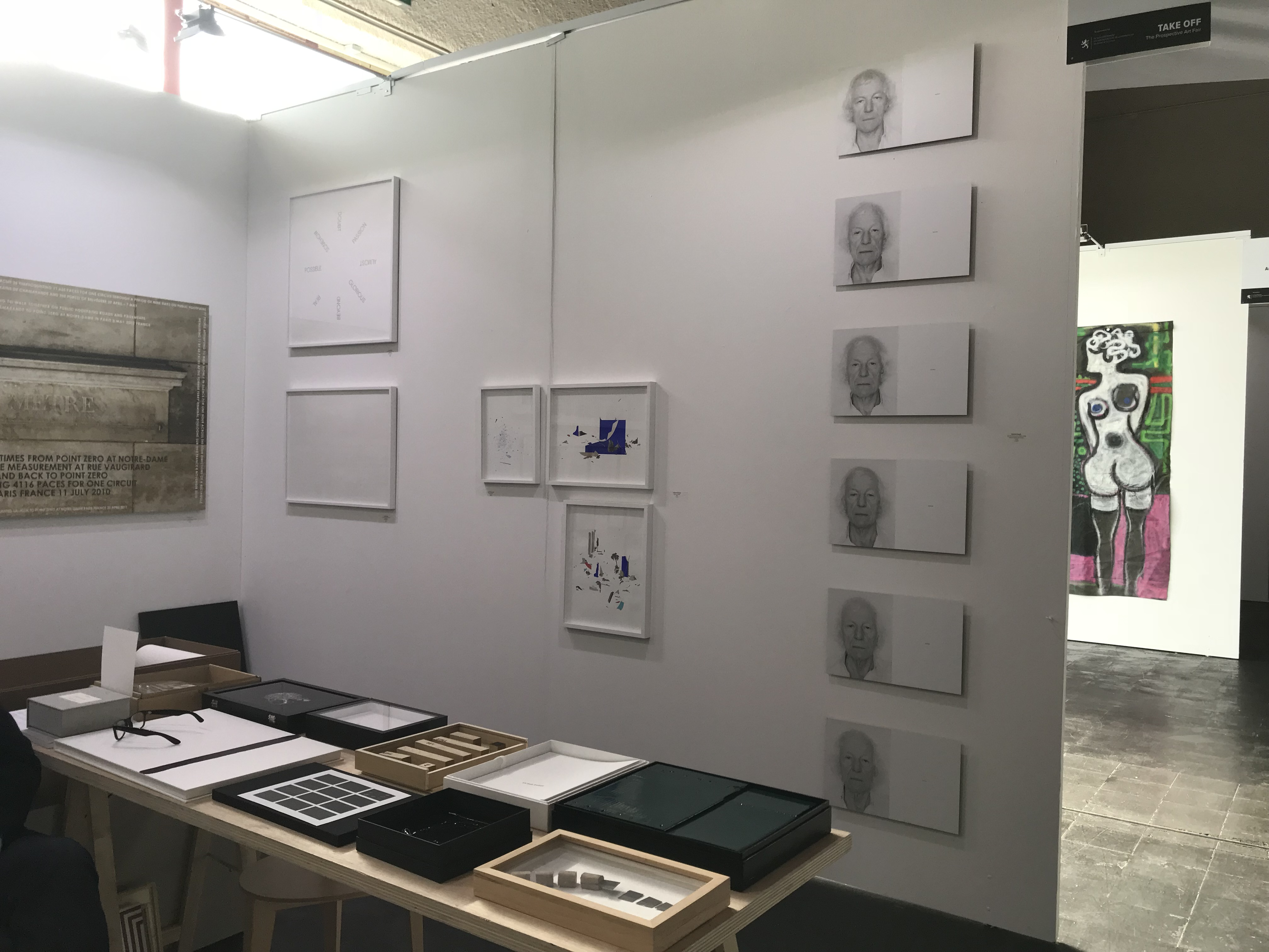 Stand Galerie 8+4. Photo : D.R.