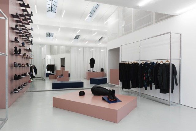 Geckeler-Michels: Adidas shop, 2016 (Photo: Bastian Gehbauer)