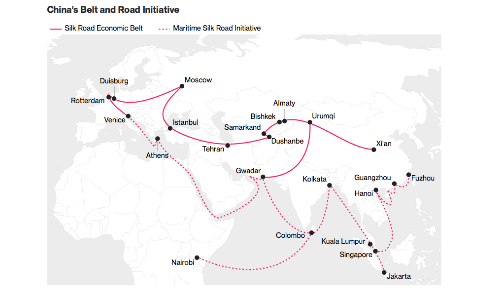 One Belt, One Road (Photo: Bloomberg, BIL)