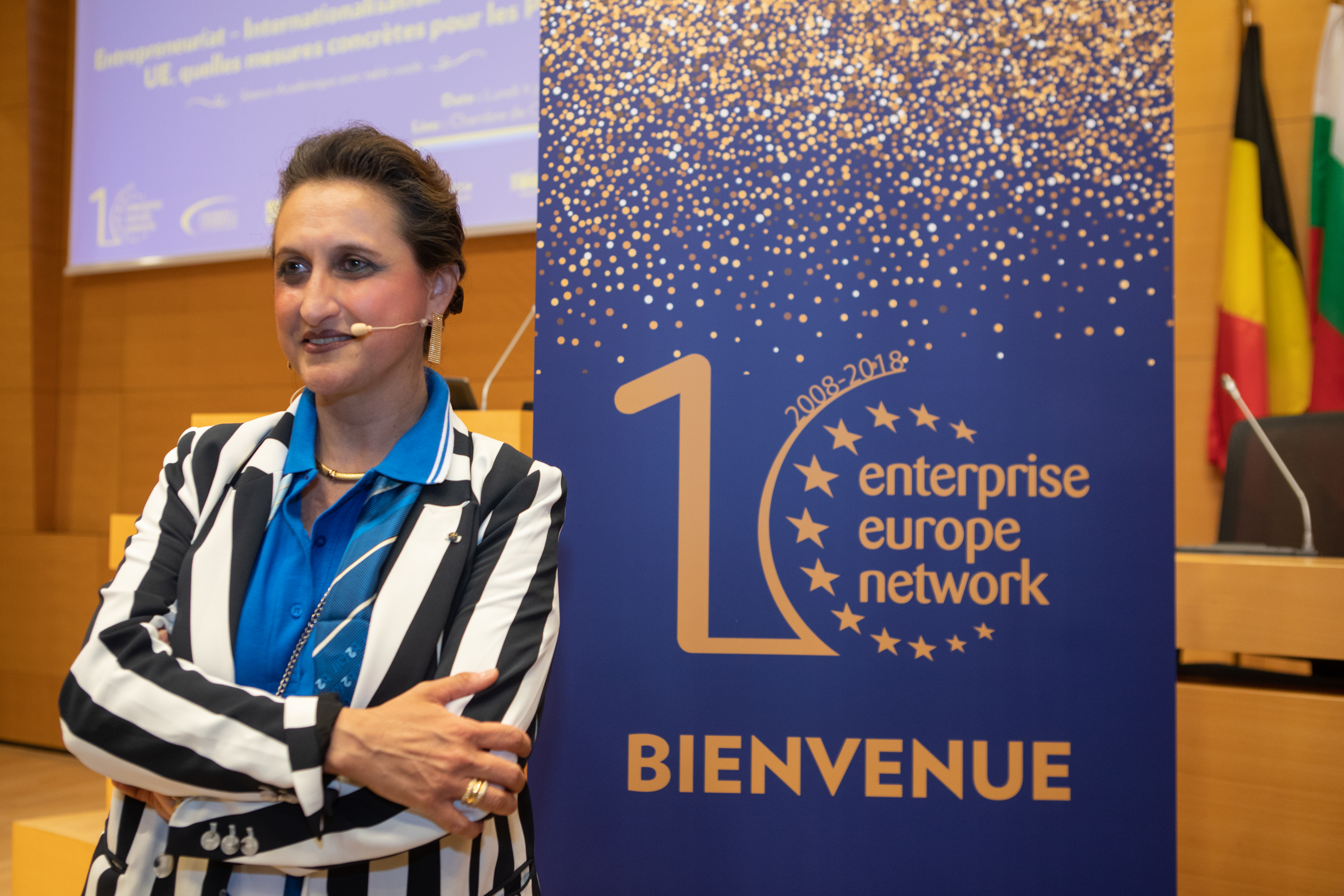 Sabrina Sagramola est la coordinatrice nationale de l'EEN pour la Chambre de commerce du Luxembourg