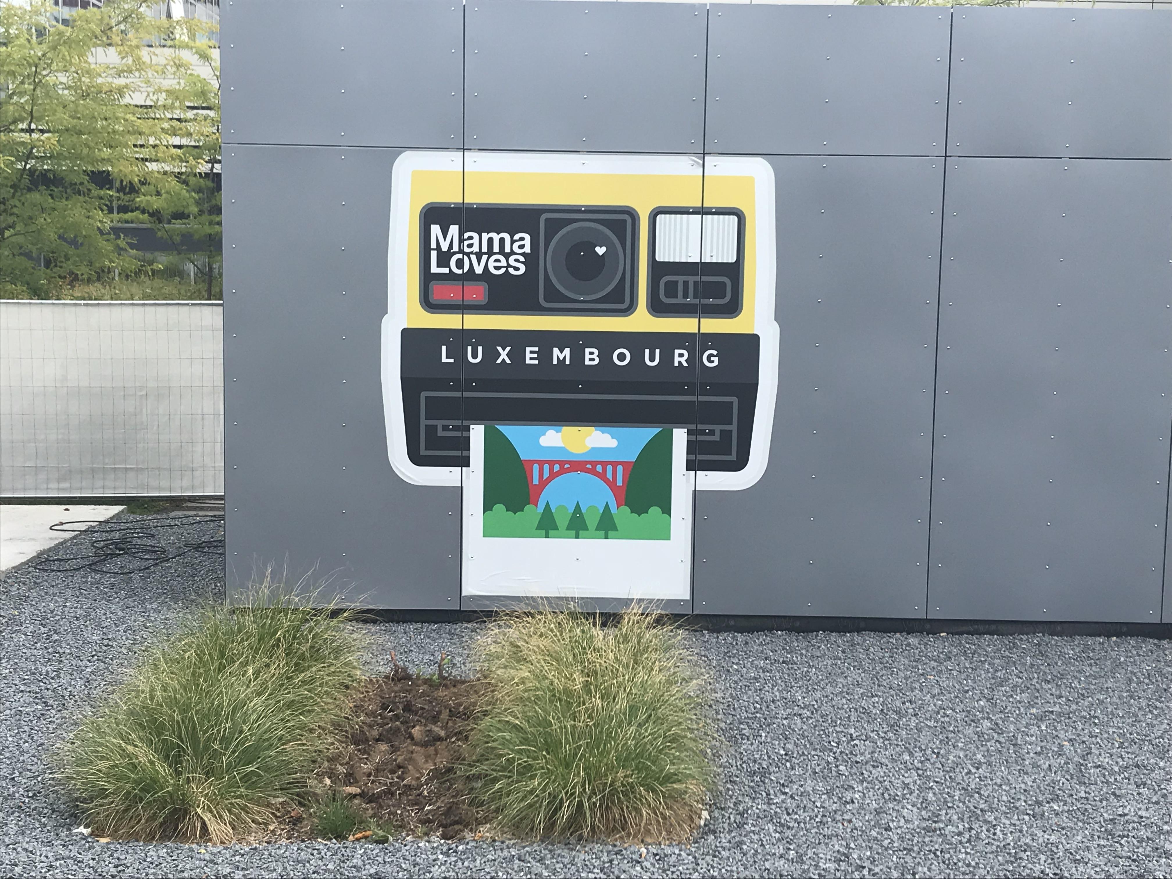 Le nouveau logo du Mama Shelter Luxembourg.