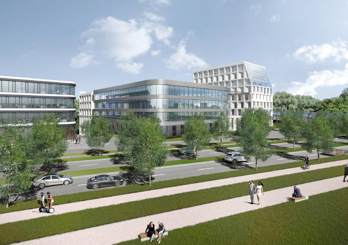 Sur les 90 hectares du Findel, 18 seront aménagés pour «répondre à la forte demande de services», selon René Steinhaus, CEO par intérim de Lux-Airport.