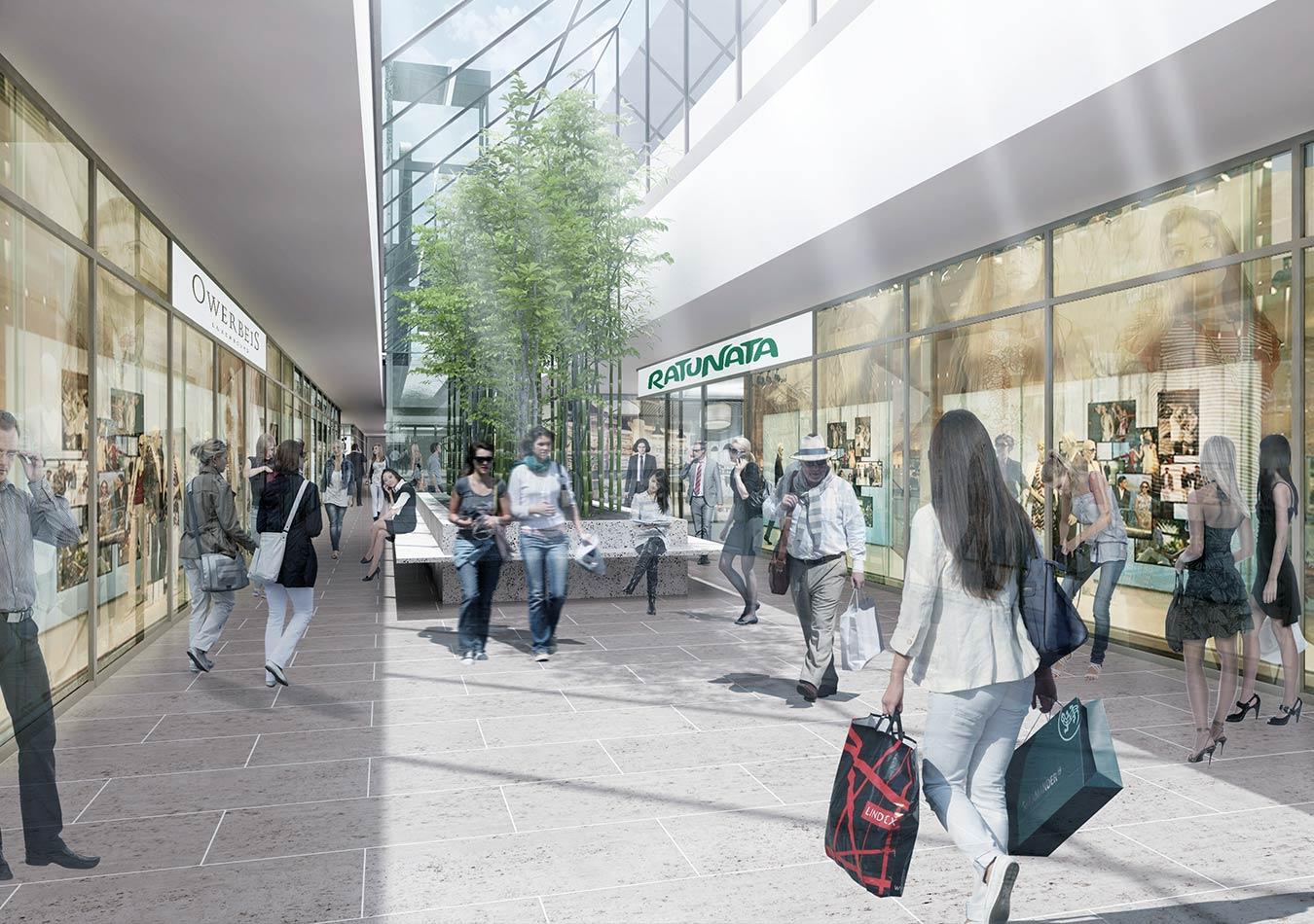 Des commerces de proximité, comme un salon de coiffure ou un supermarché de taille réduite, doivent aussi être implantés dans une partie de l'actuelle gare fantôme du Findel.