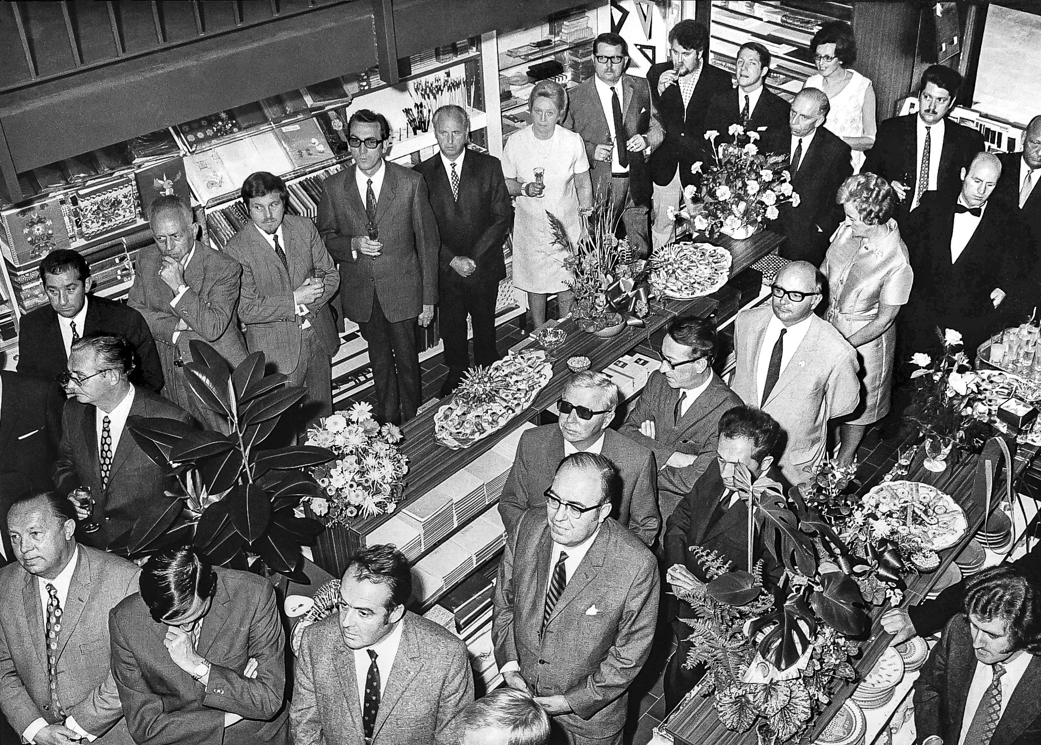 Inauguration en grande pompe après les travaux de rénovation (1971).