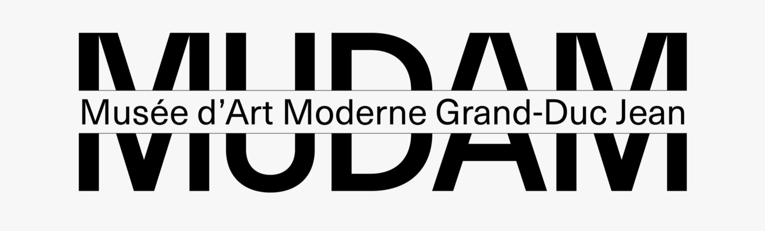 'Mudam Font' a été développée spécialement pour le Mudam.