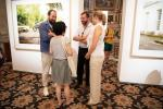 L.A.R. le Grand-Duc héritier Guillaume de Nassau et la Grande-Duchesse héritière Stéphanie de Lannoy à l'exposition 'Bad News'