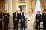 Paulette Lenert  (Ministre de la Coopération et de l'Action humanitaire, ministre de la Protection des consommateurs (LSAP))
