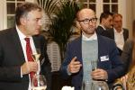 Pierre Saudeau (Banque Degroof Petercam Luxembourg) et Allan Jensen (European Capital Partners)