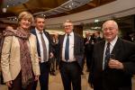 Francine Closener (secrétaire d'État à l'Économie), Romain Schmit (Fédération des artisans), Nicolas Schmit (ministre du Travail)