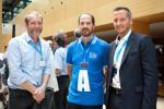 Au milieu, Arnaud Duban (Luxinnovation), à droite, Jean-Michel Ludwig (Luxinnovation)