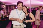 Marc Labat (Reply) et Carina Gonçalves (Caritas Jeunes et Familles)