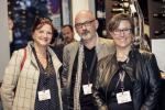 Caroline Jusseret, Carlos Esteves Duarte (M3) et Géraldine Clarisse (INdesign)