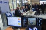Visite du Centre national des études spatiales par la délégation luxembourgeoise