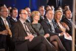 Tom Wirion (Chambre des métiers), Francine Closener (Secrétaire d'État à l'Économie), Tom Oberweis (Oberweis), François Hetto-Gaasch (Députée) et Marc Schronen (Banque Raiffeisen)