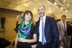 Julie Lhardit (Paperjam Club) et Baptiste Vallin (Bilia-Emond Luxembourg)