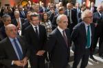 Carlos de Lojendio (Ambassadeur d'Espagne au Luxembourg); Jean Graff (Ambassadeur du Luxembourg en Espagne); Manuel San Salvador (CEO of Andbank Luxembourg) et Pierre Gramegna (ministre des Finances)