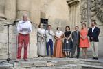 Guy Arendt, secrétaire d'Etat à la Culture au vernissage Flux Feelings à Arles