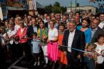 Inauguration de la Schueberfouer - Lydie Polfer coupe le ruban