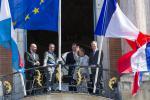 Étienne Schneider, Jean-Luc Moudenc, S.A.R. le Grand-Duc, S.A.R. la Grande-Duchesse et Jean-Baptiste Lemoyn