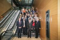 Les responsables et les étudiants de l'ISEC-HdW