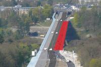 Pont Grande-Duchesse Charlotte, travaux