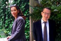 Isadora Pardo et Thierry Santarelli