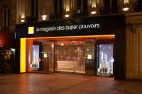 Devanture boutique Orange