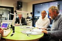 Frank Engel, Victor Weitzel et Jean-Claude Reding étaient ce week-end les invités de 100,7, dans Riicht eraus.