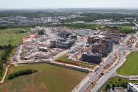 Parmi les nombreux projets immobiliers prévus à la Cloche d'Or, une large part sera réservée au logement.