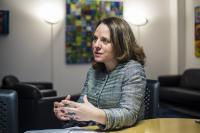 Corinne Cahen, ministre de la Famille, de l'Intégration et à la Grande Région.