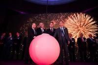 Tous autour de la boule de la fortune pour l'arrivée officielle de la septième banque chinoise au Luxembourg
