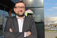 Jérôme Guilmain, directeur des clients chez Editus
