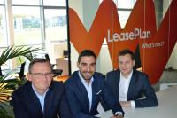 Serge Cathenis Joël Fernandes Alessandro Tutucci LeasePlan Luxembourg