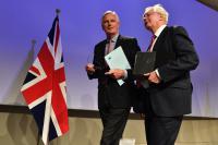 Brexit Michel Barnier et David Davis