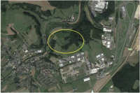 Site potentiel du centre de données au Luxembourg.