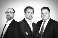 Claude Demuth, Gérard Hoffmann et Tom Kettels
