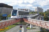 Monorail le long de l'A4