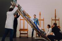 Restauration - Frank Stella - Karpathenburg II