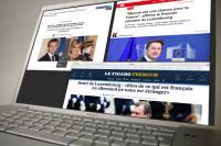 Le couple grand-ducal ainsi que le reste de la délégation luxembourgeoise ont été reçus avec les honneurs à Paris, ce qui n'a pas échappé à la presse française.