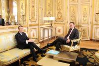 Macron et Bettel