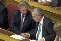 Jean-Claude Juncker et Jean Asselborn