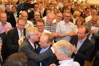 Au sein des partis (ici le CSV), les politiciens ont la cote.