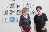 Leonor Comin et Fabienne Vandaele, Galerie 14.