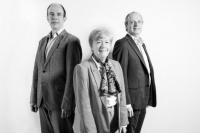 Paul Wilmes, Catherine Larue et Jean-Claude Schmit
