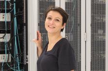 Frédérique Ulrich, responsable et organisatrice des Luxembourg Internet-Days