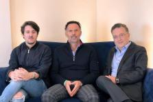 Marco Mignani, à gauche, est un des trois cofondateurs de la start-up Mileswap, qui s'est envolée pour le CES de Las Vegas qui débute ce mardi.