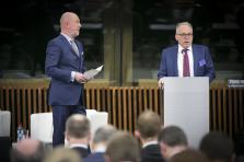 Lou Kiesch, partner Deloitte Luxembourg and Jacques Elvinger, partner Elvinger Hoss Prussen